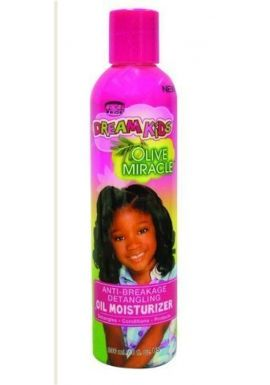 ANTI BREAKAGE DE TANGLING OIL MOISTURISER FOR KIDS 8 Oz