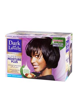 Dark & Lovely No Lye Relaxer Regular for Normal Hair Kit