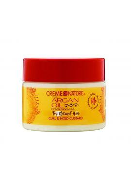 Creme Of Nature Argan Oil Twirling Custard Curl Styling Gel, 11.5 oz / 326 g