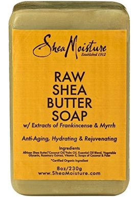 Shea Moisture Raw Shea Butter Bar Soap- 235 ml (Pack of 2)