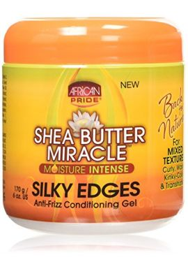 African Pride Shea Butter Miracle Silky Edge Conditioning Gel 170 g