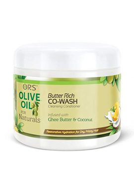 ORS Olive Oil for Naturals Butter Rich Co-Wash Cleansing Conditioner