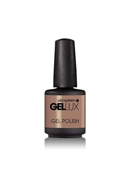 Salon System Gellux Gel Polish, Naturally Bronzed, 15 ml